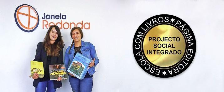 A Janela Redonda Apoia O Projeto Social Escola Com Livros