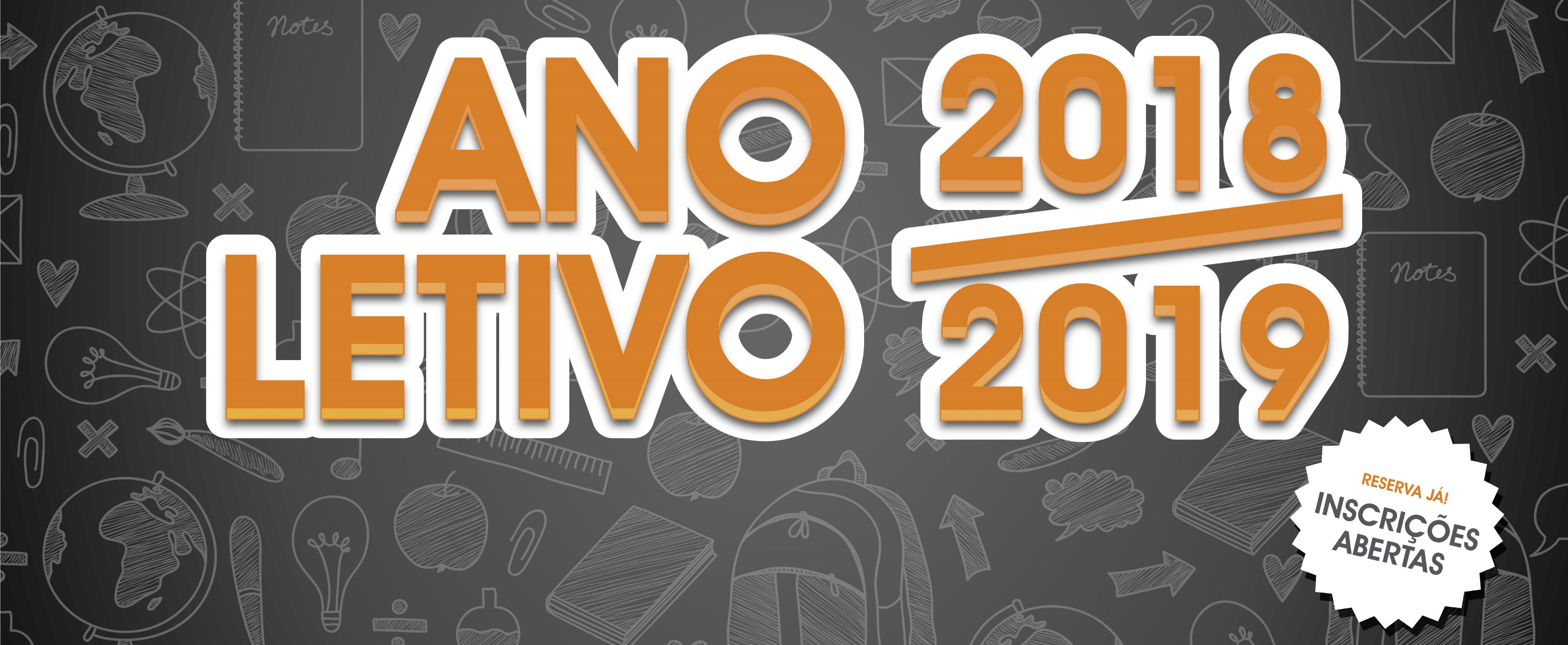 Inscrições Abertas Ano Letivo 2018/2019